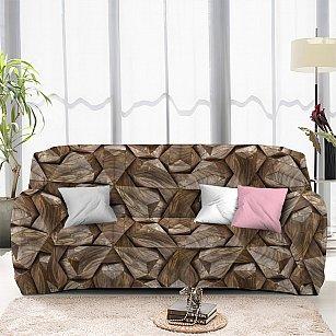 Чехол на диван трехместный ЧХТР071-13336, 195-230 см
