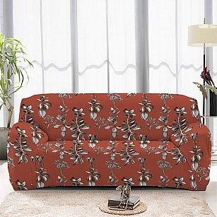 Чехол на диван одноместный ЧХТР069-16911, 90-140 см