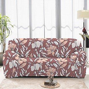 Чехол на диван трехместный ЧХТР071-16923, 195-230 см
