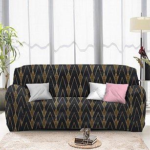 Чехол на диван двухместный ЧХТР070-16962, 145-180 см