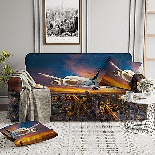 Чехол на диван ЧХТР-04360