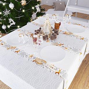 """Дорожка на стол """"В ожидании Рождественского чуда"""", 40*140 см"""