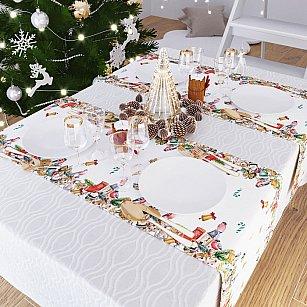 """Дорожка на стол """"Волшебство Нового года"""", 40*140 см"""