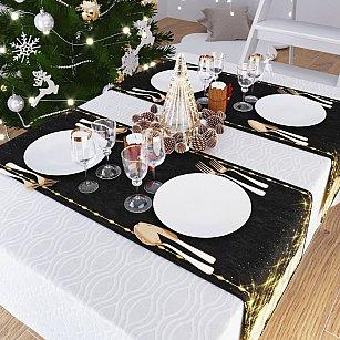 """Дорожка на стол """"В новогоднюю ночь"""", 40*140 см"""