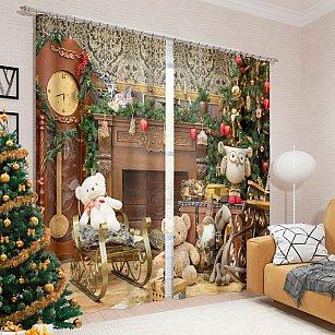 """Фотошторы """"Любимое рождество"""", 145*260 см"""