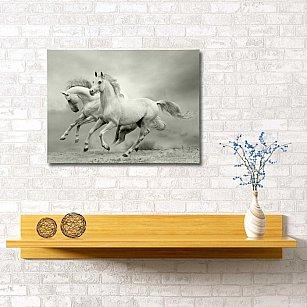 """Картина """"Лошадиная рысь"""", 60*40 см"""