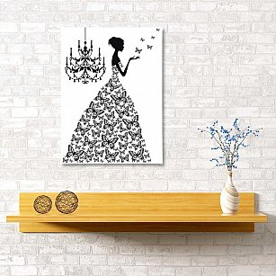 "Картина ""Принцесса"", 40*60 см"