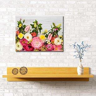 """Картина """"Цветочное панно"""", 60*40 см"""