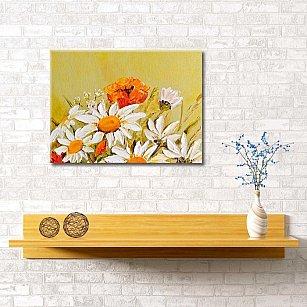 "Картина ""Ромашки в поле"", 60*40 см"