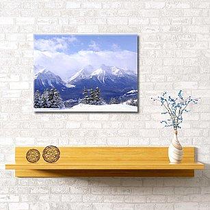 """Картина """"Альпийская зима"""", 60*40 см"""