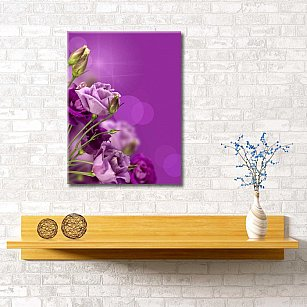 """Картина """"Аметистовые розы"""", 40*60 см"""