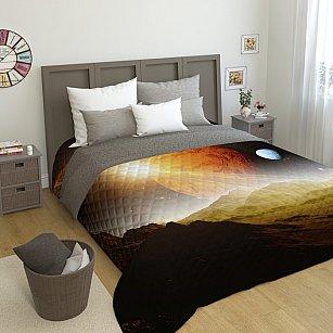 """Стеганое фотопокрывало """"Сатурн"""", 200*220 см"""