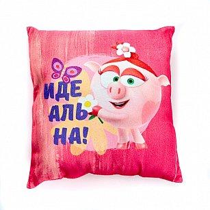 """Подушка декоративная """"Нюша-хвастушка"""", 40*40 см"""
