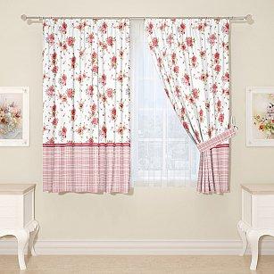 Комплект штор для кухни №00646