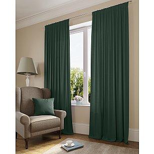 Комплект штор 230-111, темно-зеленый