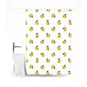 """Штора для ванной """"Веселые утята"""", 145*180 см"""