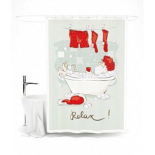 """Штора для ванной """"Relax"""", 145*180 см"""