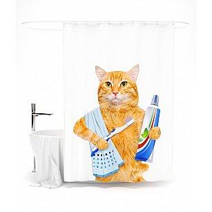 """Штора для ванной """"Ежедневные процедуры"""", 145*180 см"""