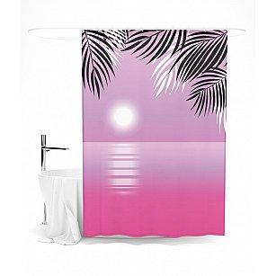 """Штора для ванной """"Романтичный закат"""", 145*180 см"""