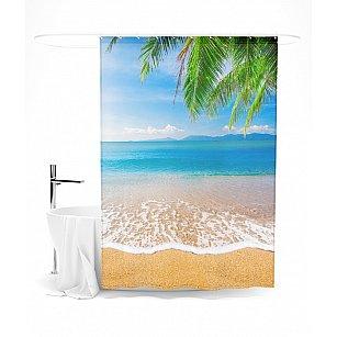 """Штора для ванной """"Beautiful sea"""", 145*180 см"""