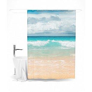 """Штора для ванной """"Магия моря"""", 145*180 см"""