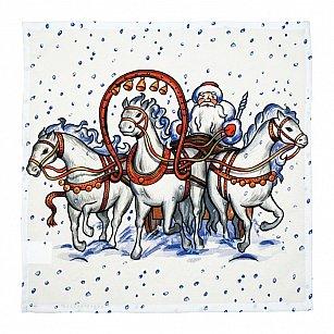 "Набор салфеток ""Праздник Рождественской елки"""