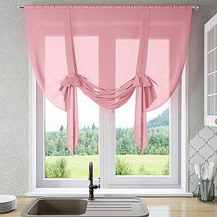"Шторы ""Селена"", розовый"
