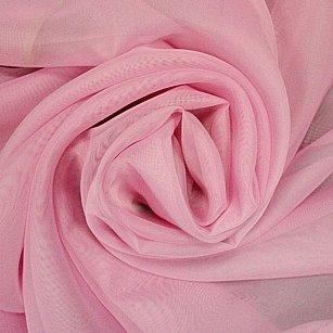 Тюль однотонная вуаль RR 2053, розовый, 600*270 см