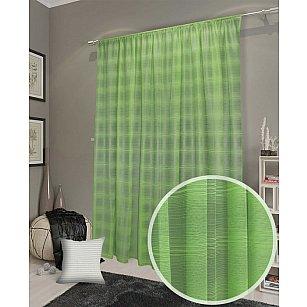 Тюль сетка Premium RR WG24-106, зеленый, 300*270 см