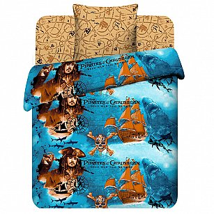 """Комплект постельного белья """"Пираты Карибского моря"""" 7031"""
