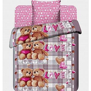 """Комплект постельного белья """"Любимый мишка"""" 7075"""