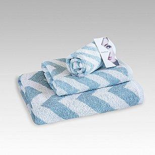 "Полотенце махровое ""Фрешлук"" Cool Blue, голубой, 70*130 см"