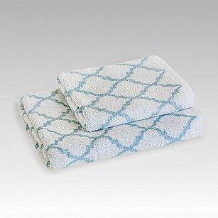 """Полотенце махровое """"Меморис"""" Cool Blue, голубой, 70*130 см"""