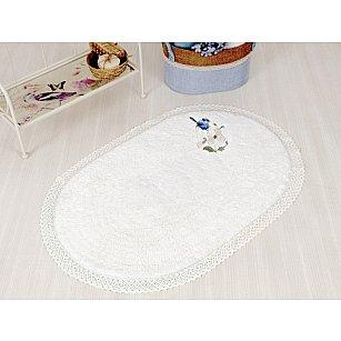 """Махровое полотенце для ног """"BIRD Beyaz"""" (белый), 60*100 см"""