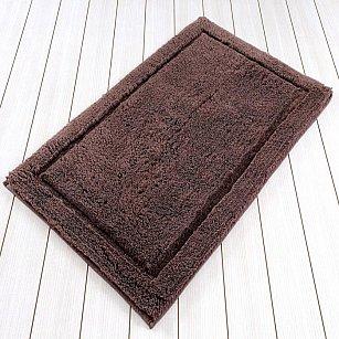 Коврик для ванной LINDA Vison, коричневый, 60x100 см