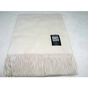 Плед INCALPACA Пима, белый, 85*110 см