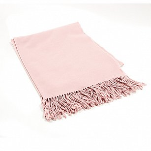 Плед INCALPACA Пима, розовый, 85*110 см