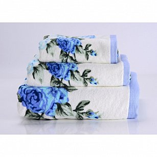 "Полотенце банное ""Rosy"", голубой"