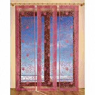 Комплект японских штор цветной №3337