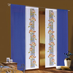 Комплект японских штор цветной №3457