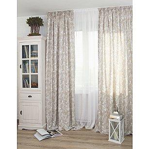 Комплект штор Adele Coord Donana-81, бежевый (beige), 200*270 см