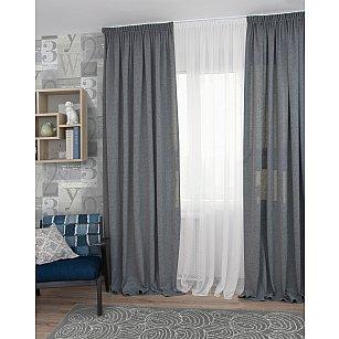 Комплект штор Icaro-70, серый (gris), 200*270 см
