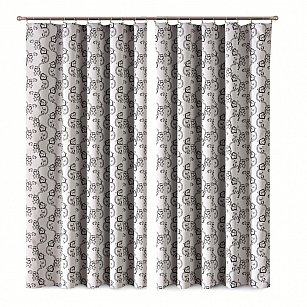 Комплект штор Primavera №6, серый