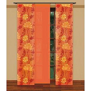 Японская штора №202240/50, оранжевый