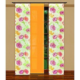 Японская штора №202240/50, желтый