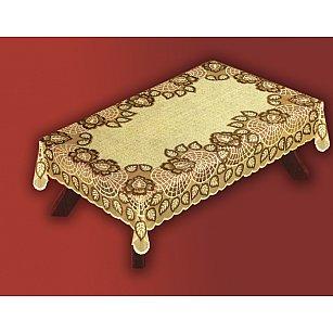 Скатерть Haft №38700/100, оливково-коричневый, 100*150 см