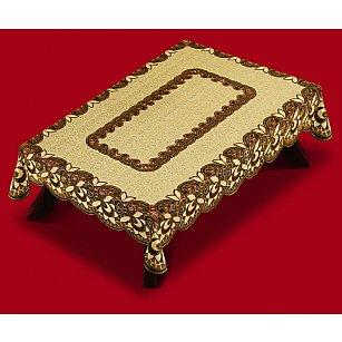 Скатерть Haft №38780/100, оливково-коричневый, 100*150 см