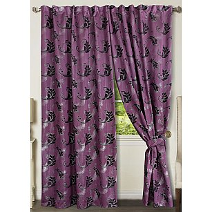 Комплект штор №777171, фиолетовый