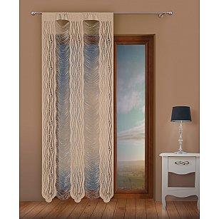 Кисея нитяная штора Jga, льняной, 100*250 см