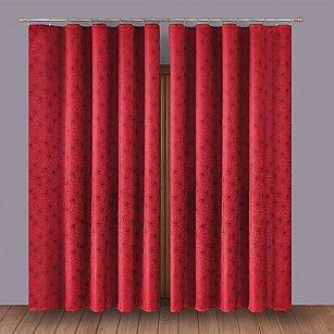 Комплект штор Primavera №1110003, бордо